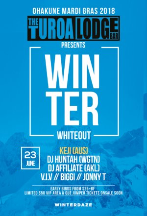 Turoa Ski Lodge PRESENTS: WINTER WHITEOUT! photo