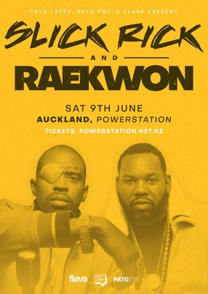 Slick Rick and Raekwon - Auckland