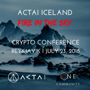 ACTAI Iceland - CRYPTO CONFERENCE photo