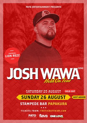 Josh Wawa - Papakura (2nd Show) photo
