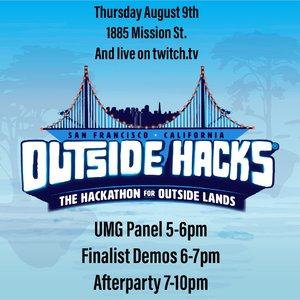 Outside Hacks - UMG Panel, Demo Night and Afterparty photo