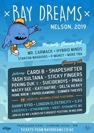 Bay Dreams 2019 - Nelson