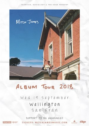 Mitch James - Album Tour (Wellington) photo