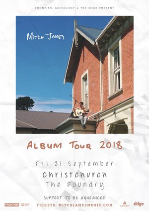 Mitch James - Album Tour (Christchurch) photo
