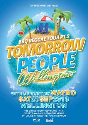 TOMORROW PEOPLE - WELLINGTON