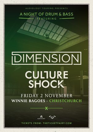 A Night of Drum & Bass ft. Dimension, Culture Shock (CHCH) photo