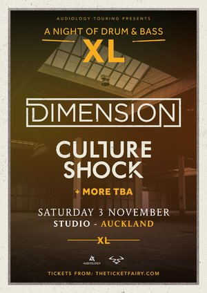 A Night of Drum & Bass XL ft. Dimension, Culture Shock (AKL)
