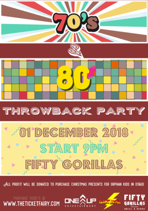 70's & 80's Throwback Party