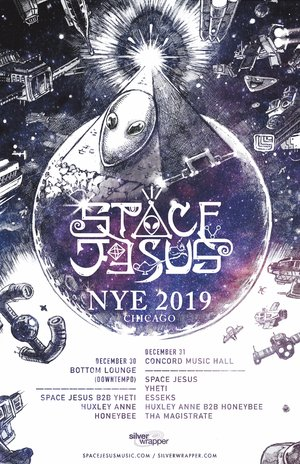 Space Jesus - December 30th / 31st - Chicago, IL