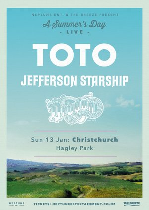 A Summer's Day Live ft. TOTO, J. Starship & Dragon (Christchurch) photo