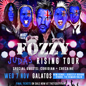 Fozzy - Judas Rising Tour