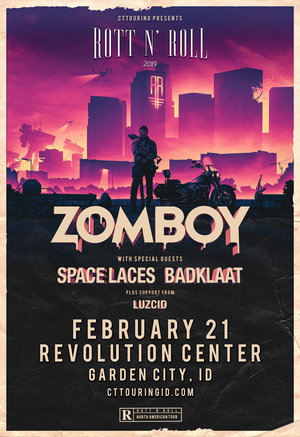 Zomboy Rott N' Roll Tour 2019 - BOISE, ID photo