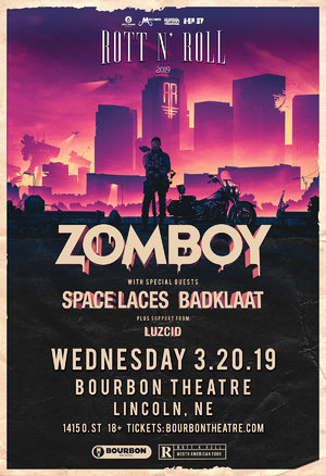 Zomboy Rott N' Roll Tour 2019 - LINCOLN, NE photo