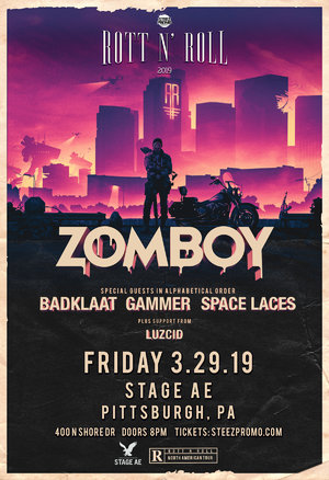 Zomboy Rott N' Roll Tour 2019 - PITTSBURGH, PA photo