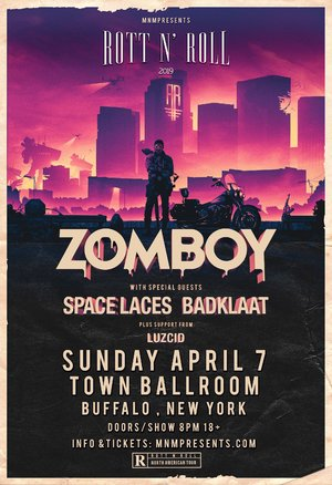 Zomboy Rott N' Roll Tour 2019 - BUFFALO, NY photo