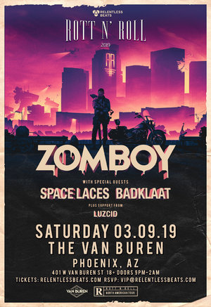 Zomboy Rott N' Roll Tour 2019 - PHOENIX, AZ photo
