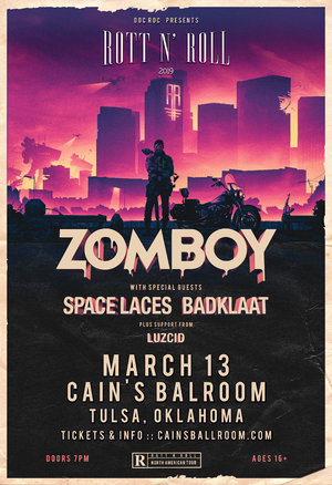 Zomboy Rott N' Roll Tour 2019 - TULSA, OK photo