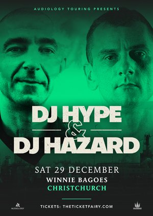 DJ Hype & DJ Hazard - Christchurch photo
