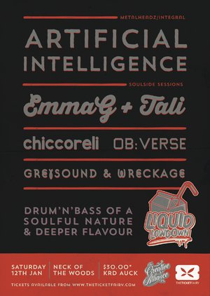 Liquid Lowdown Presents Artificial Intelligence ft Emma G & Tali