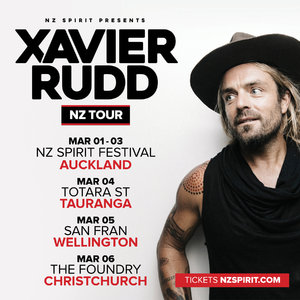 Xavier Rudd NZ Tour | Wellington photo