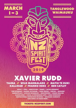 NZ Spirit Festival 2019 | feat Xavier Rudd photo
