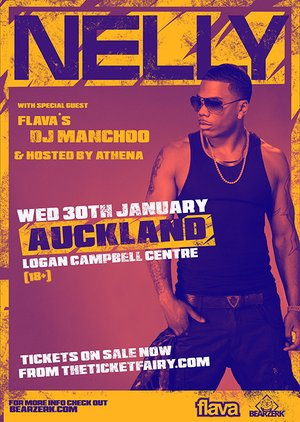 NELLY - Live in Auckland