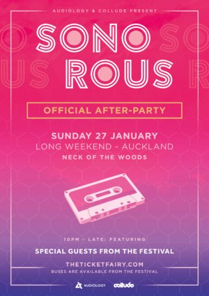 Sonorous Festival 2019 - Official Afterparty