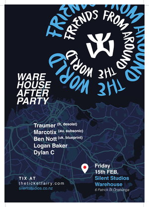 FFATW Warehouse After party feat Traumer (France, Desolat)