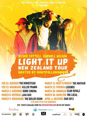 Light It Up NZ Tour | New Plymouth