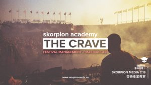 Festival Management Masterclass by The Crave // Skorpion Academy photo