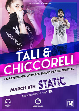 The Drum & Bass Massive presents: Tali and Chiccoreli photo