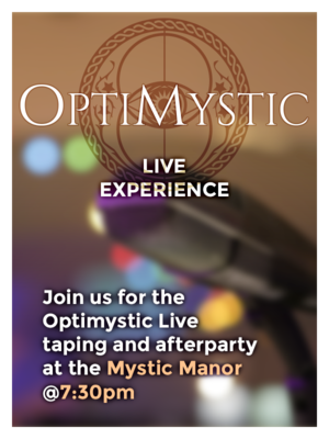 Optimystic Live Experience - OCT 12 2019