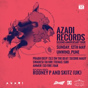 Azadi Records Second Anniversary Tour - Pune