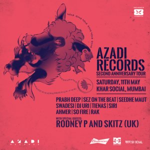 Azadi Records Second Anniversary Tour - Mumbai