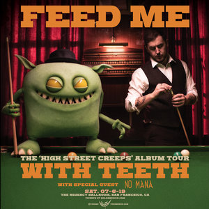 Feed Me - ' High Street Creeps' - San Francisco, CA photo