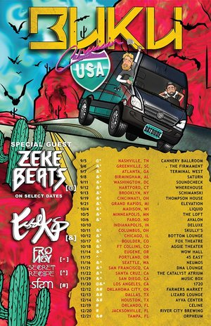 BUKU'S 'Cruisin' Tour - Madison, WI - 10/4