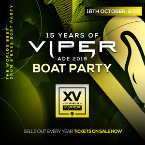 ADE: 15 Years Of Viper - BOAT PARTY