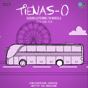 Tienas 'O' - Album Listening On Wheels