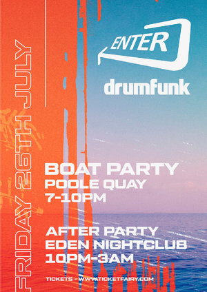 Enter & Drumfunk Boat Party photo