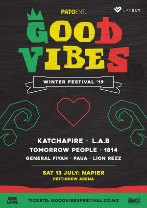 Good Vibes Winter Festival - NAPIER