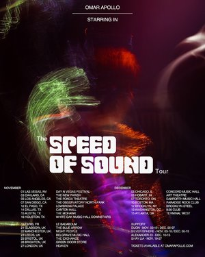 Omar Apollo - The Speed of Sound Tour - Paris, France photo