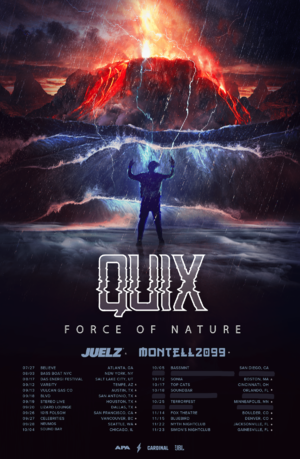 QUIX – FORCE OF NATURE TOUR - San Diego, CA photo