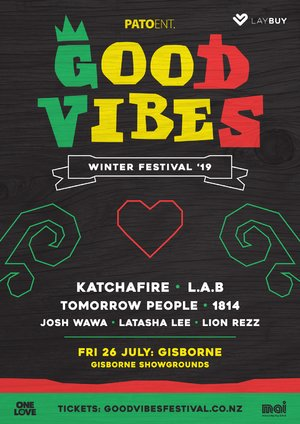 Good Vibes Winter Festival - GISBORNE
