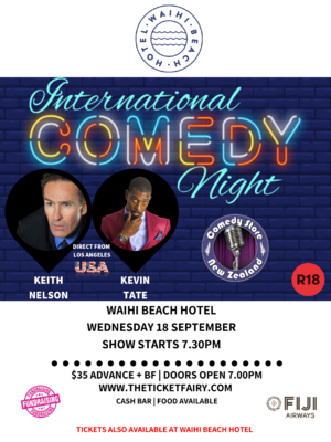 International Comedy Night - Waihi Beach