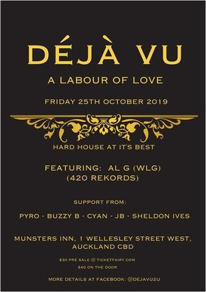 "Deja Vu ""A Labour of Love"""