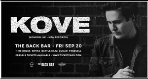 Kove (UK) Drum & Bass at Back Bar photo