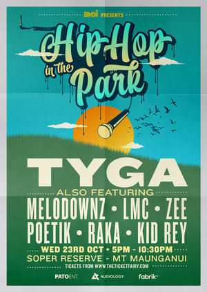Hip Hop in the Park ft. TYGA & friends - Mt Maunganui photo