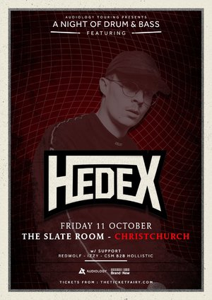 A Night of Drum & Bass Ft. Hedex (Christchurch)