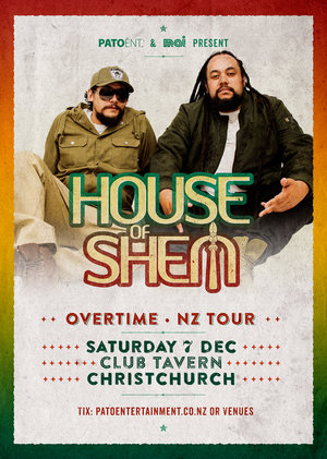 HOUSE OF SHEM - Christchurch