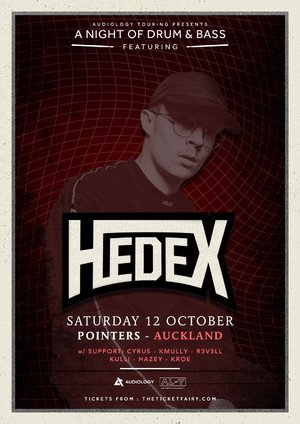 A Night of Drum & Bass Ft. Hedex (Auckland)